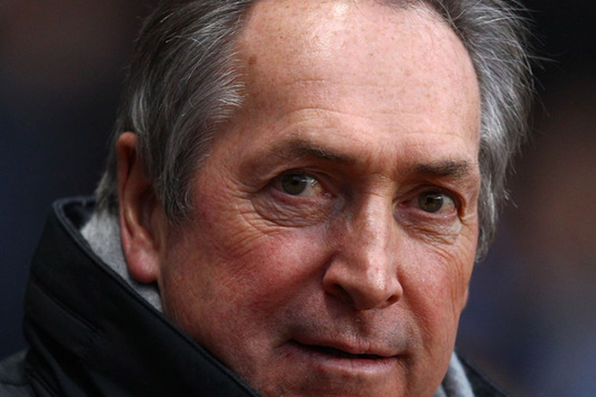 Giving Gerard Houllier the boot won't solve Villa's relegation worries.   (Photo by Richard Heathcote/Getty Images)