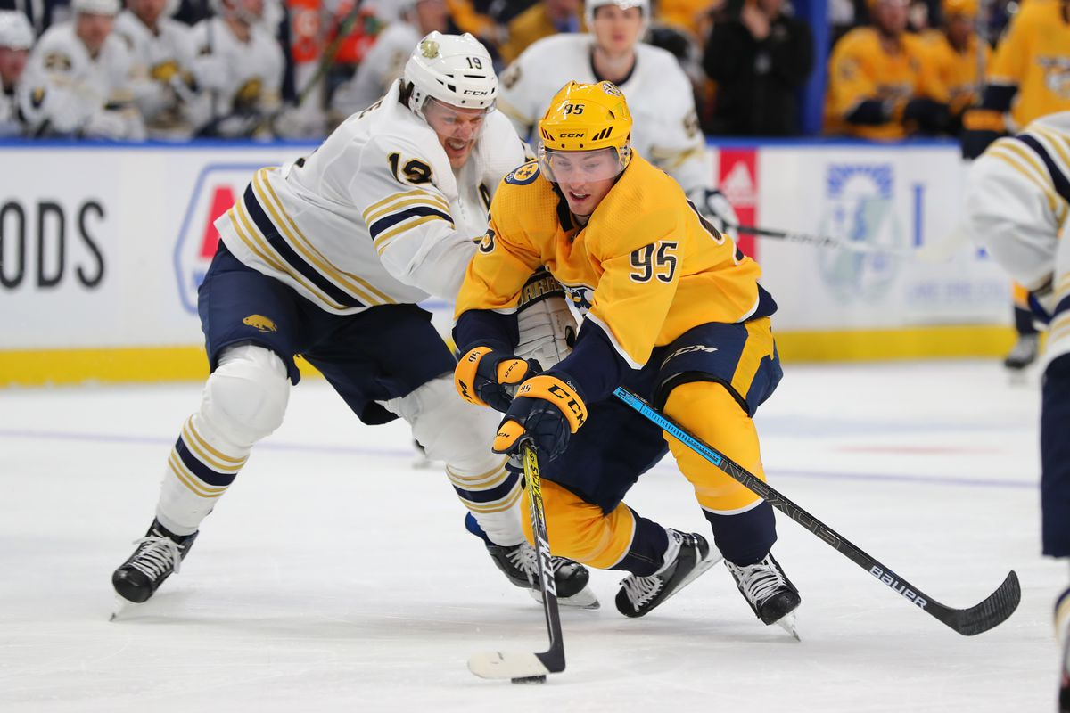 NHL: Nashville Predators at Buffalo Sabres