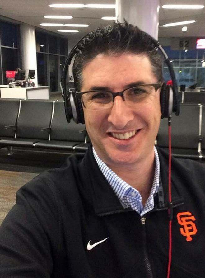 Bryan Srabian, the San Francisco Giant's director of digital media