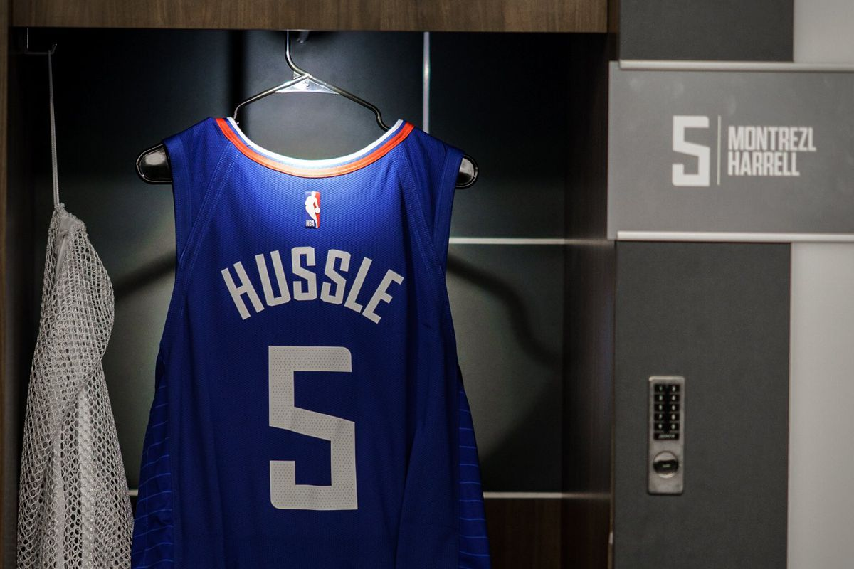 new style 5d497 2b14a Montrezl Harrell And The Clippers Honor Nipsey Hussle ...
