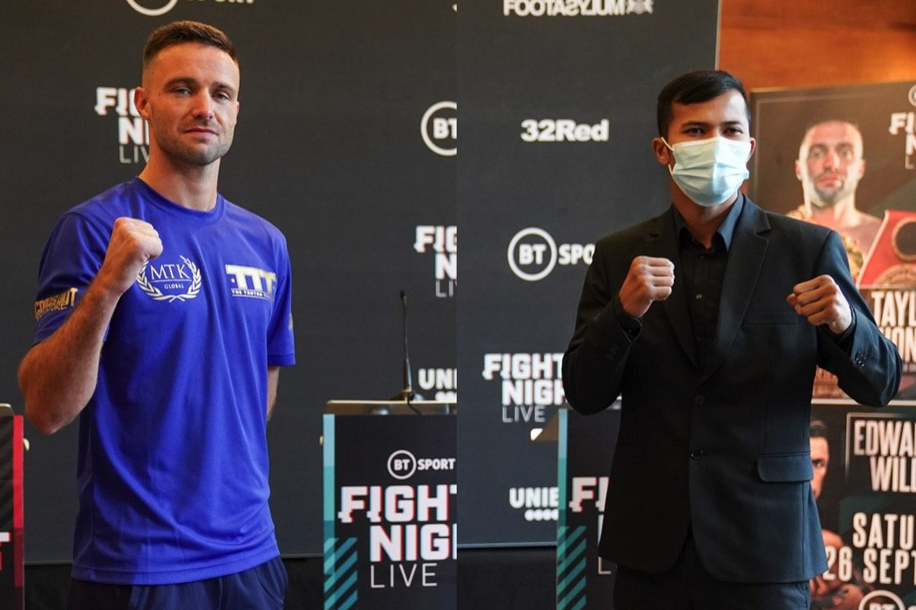 <label><a href='https://www.mvpboxing.com/news/boxing/32893/Taylor-Khongsong-Live-coverage-230-pm-ET' class='headline_anchor'>Taylor-Khongsong: Live coverage, 2:30 pm ET</a></label><br />Josh Taylor will face Apinun Khongsong in today's main event from London. Today at 2:30 pm ET st