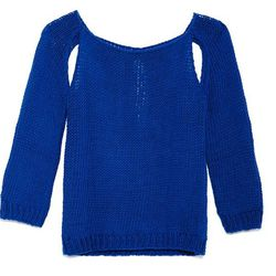 <b>Wool and the Gang</b> Sexy Back sweater, $50 (was $189)