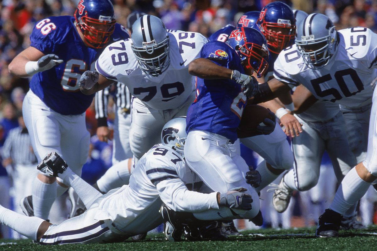 K-State really hasn't had a prominent defensive lineman wear No. 97 since Melvin Williams. I'm not sure Logan Stoddard will reach that level of prominence.