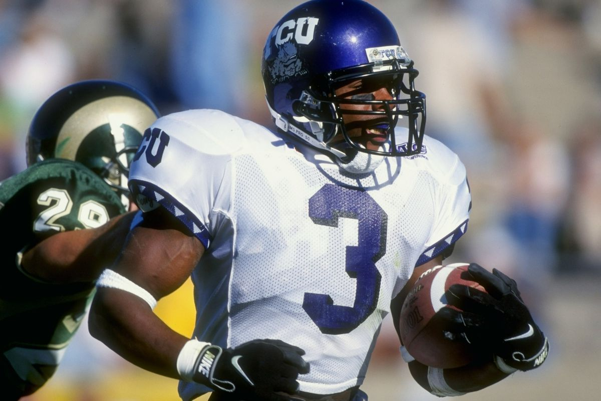 Basil Mitchell... the running back that was good enough to make LT split carries for two seasons.