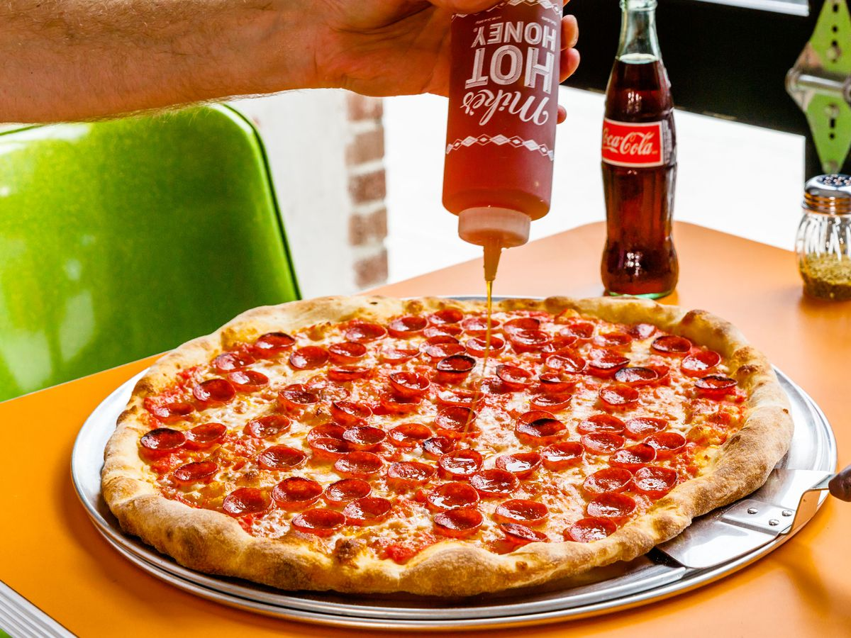 Paulie Gee's Slice Shop pizza