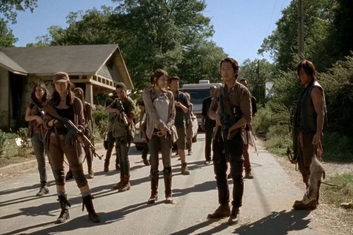The Walking Dead removes major actor from opening credits