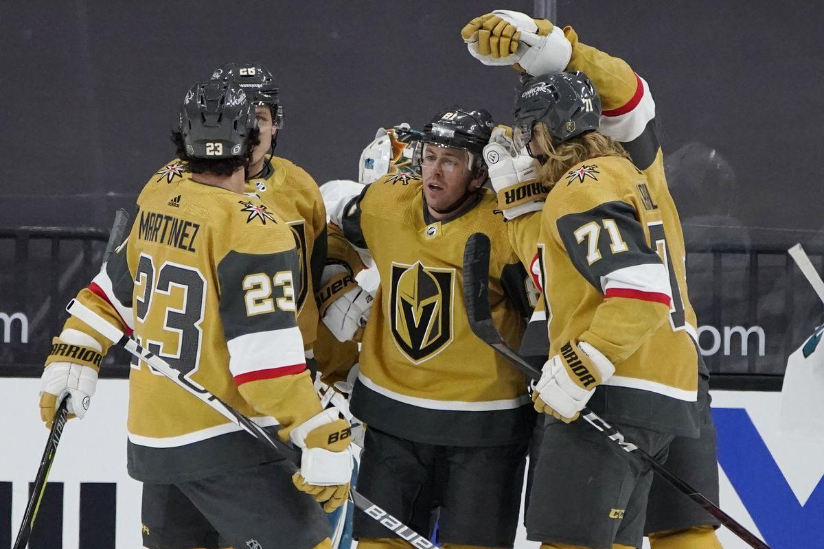 NHL: San Jose Sharks at Vegas