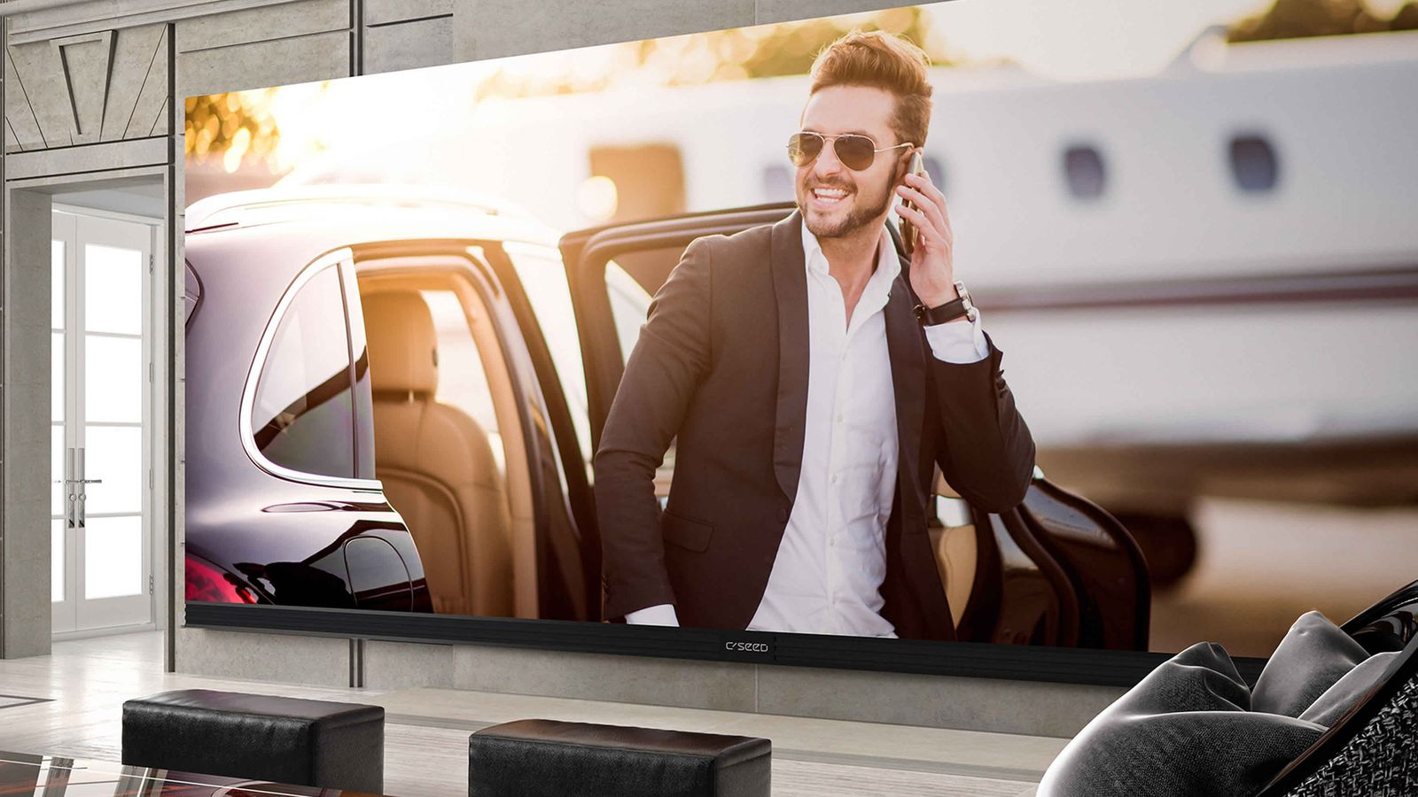 The Biggest 4k Tv You Can Buy Makes Your 100 Inch Tv Look