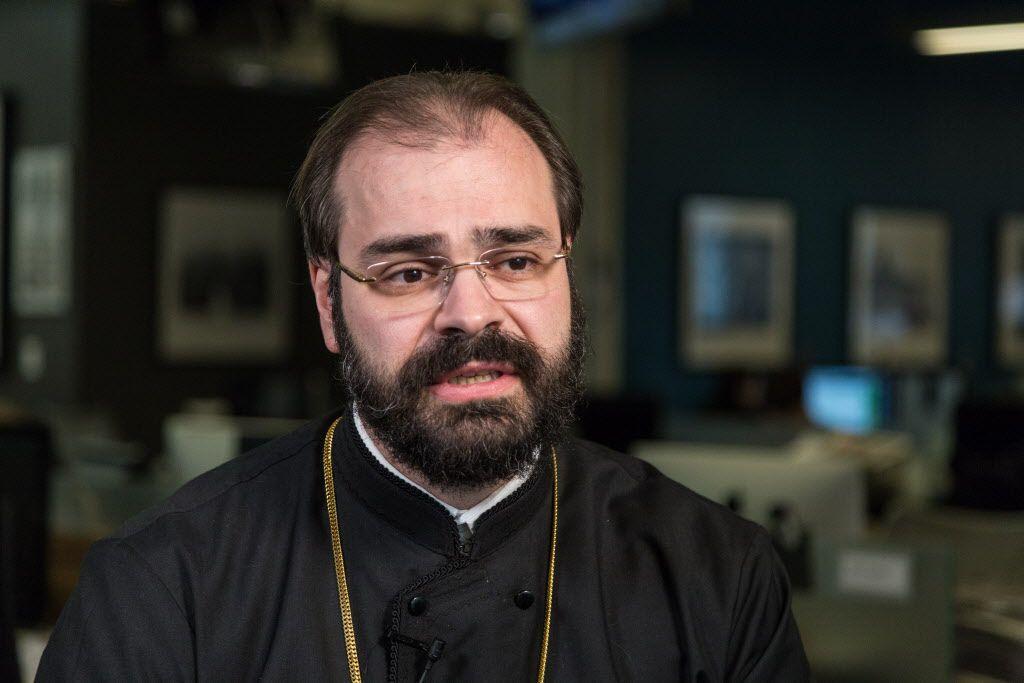 Greek Orthodox Metropolitan of Chicago Nathanael Symeonides | Erin Brown/Sun-Times