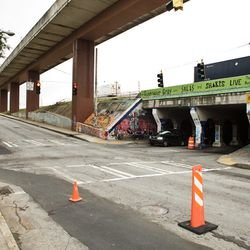 A plan is being formulated for how the trail can safely pass through the Krog Street Tunnel.