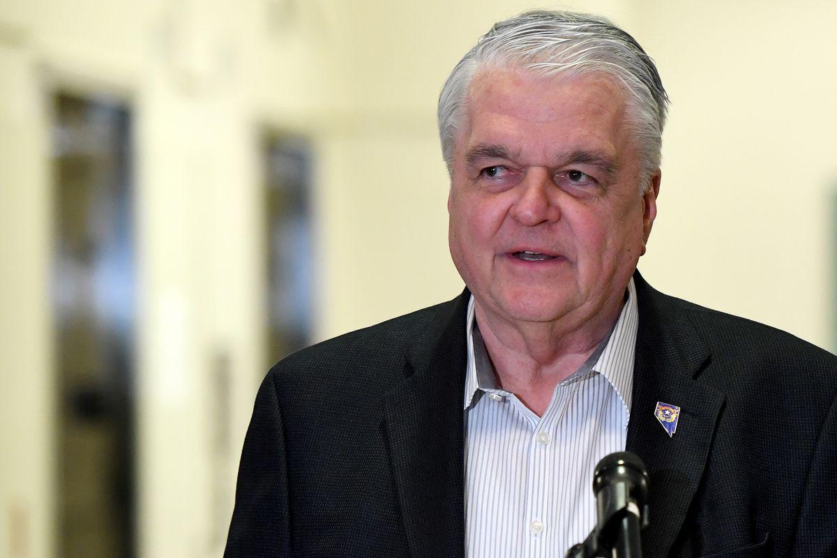 Nevada Governor Steve Sisolak Addresses Media On Government Response To Coronavirus