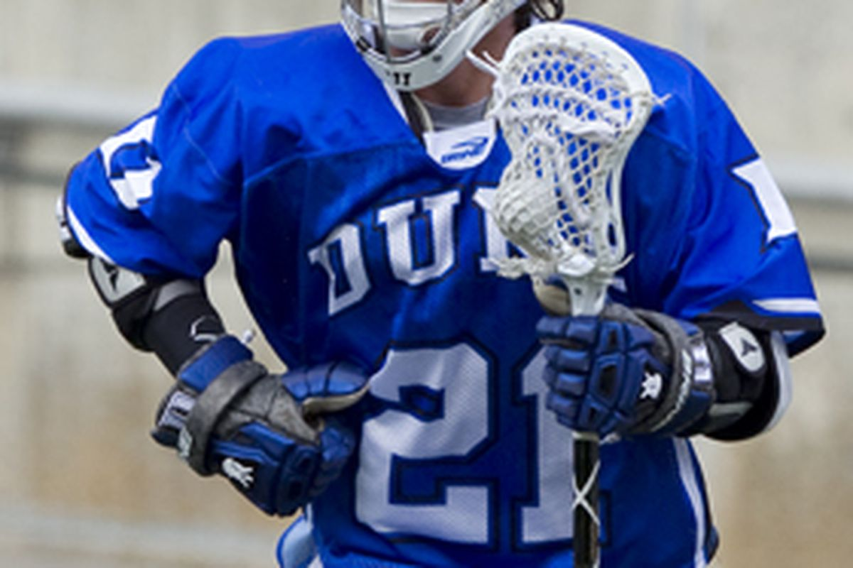 Zach Howell led the Blue Devils with nine points (7 goals and two assists) as the Blue Devils move to 1-0 on the season following their 20-6 win over Siena