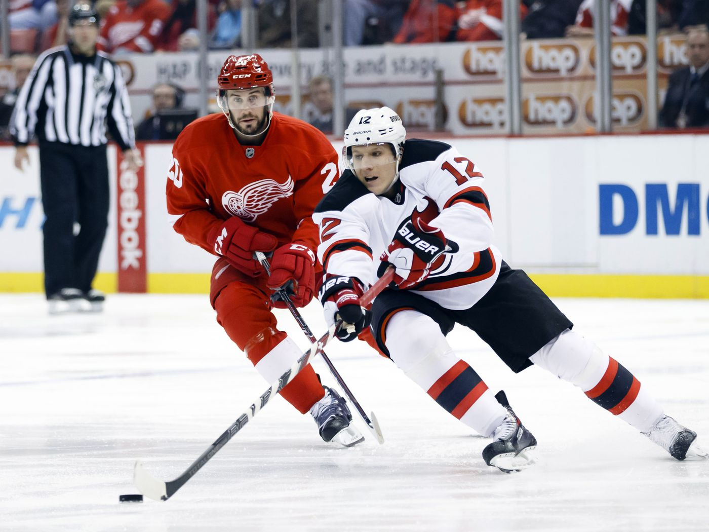 New Jersey Devils At Detroit Red Wings Game Stream 14 All About The Jersey