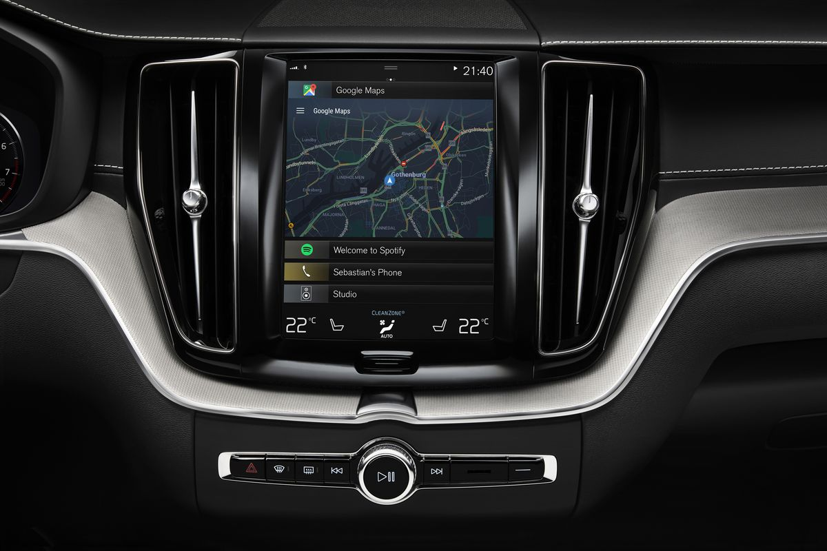 Audi And Volvo Will Use Android As The Operating System In Upcoming - Google audi car