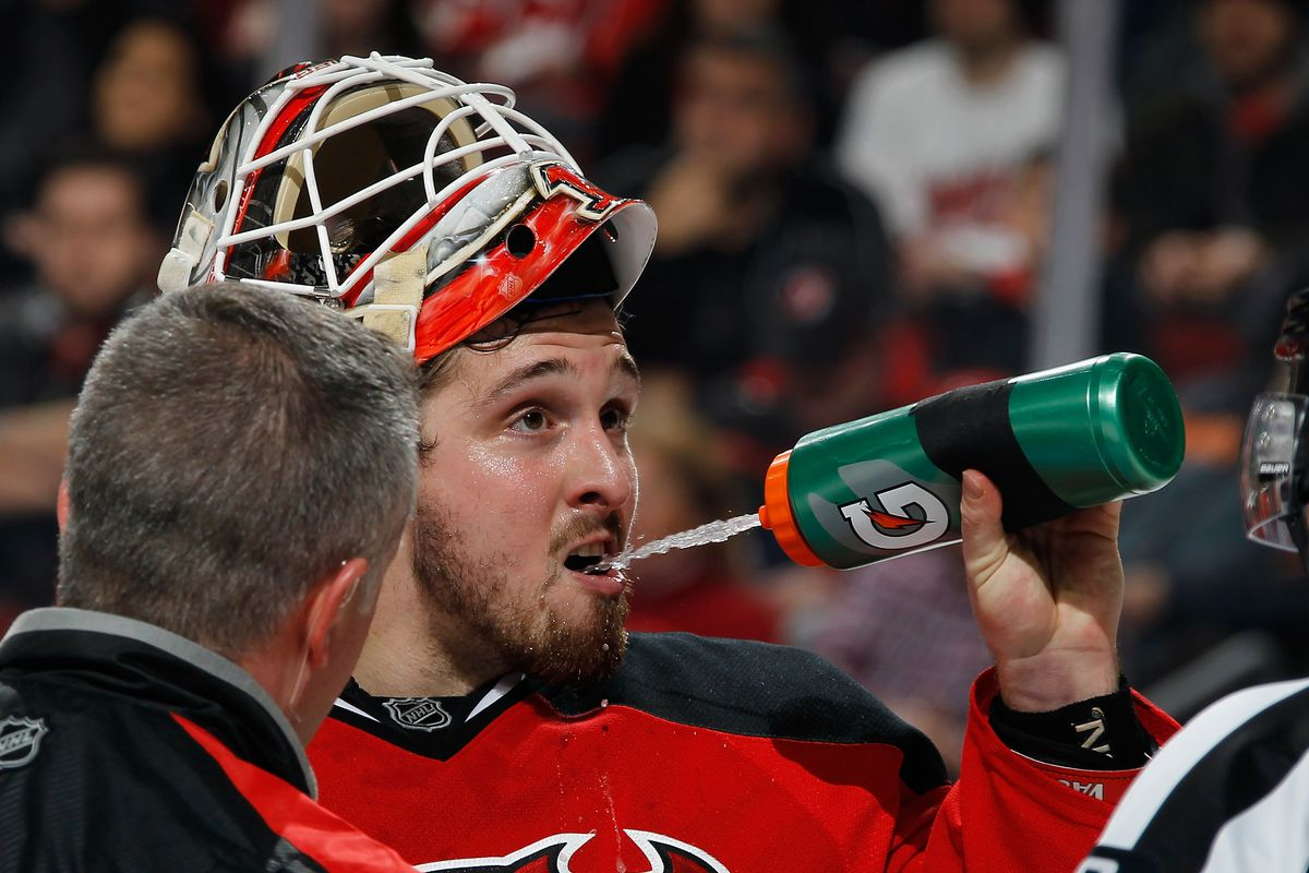 more photos e4280 17802 Keith Kinkaid Led New Jersey Devils 3-0 Stunner Over San ...