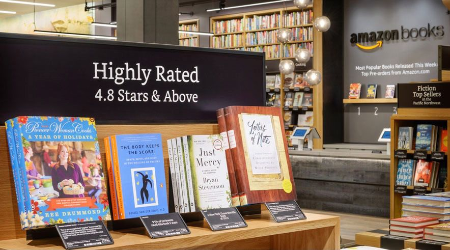 Amazon is opening its first physical bookstore today - The Verge