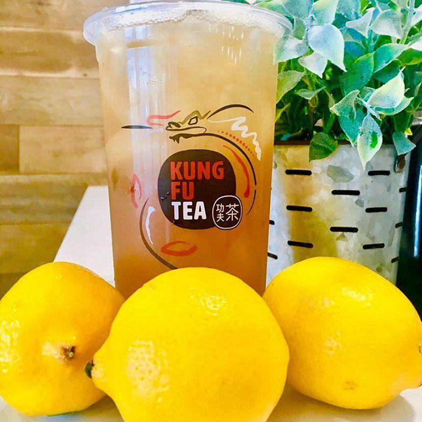 wintermelon lemonade at Kung Fu Tea