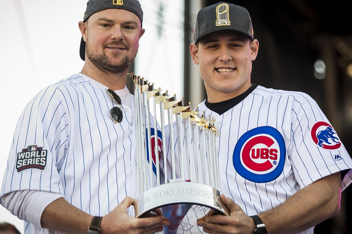best authentic 65f28 94f4b Cubs, White Sox World Series trophies to be on display ...