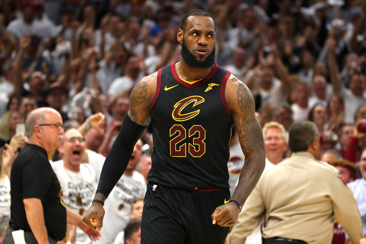 LeBron James is having the best NBA Playoffs ever. Let's rank his many amazing 2018 games ...