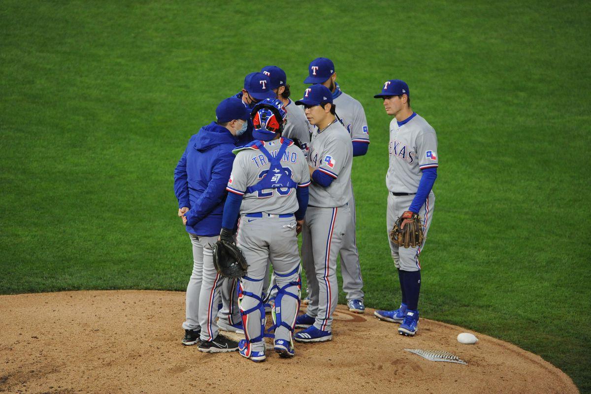 MLB: Texas Rangers at Minnesota Twins
