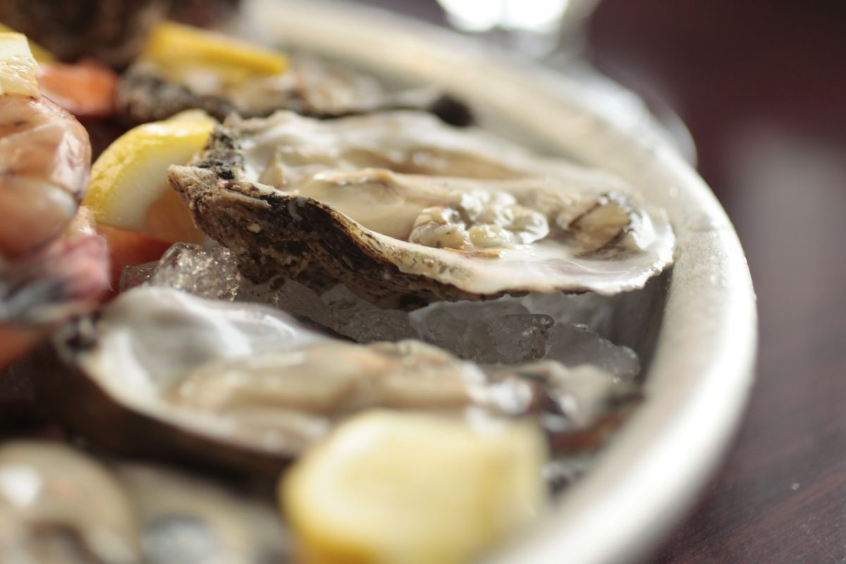 The oysters.