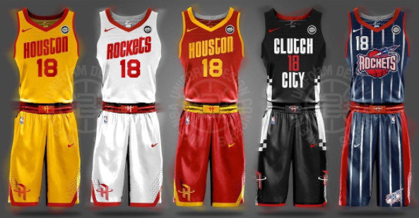 the best attitude d780b 64897 These fan-made NBA jerseys are so much better than the real ...
