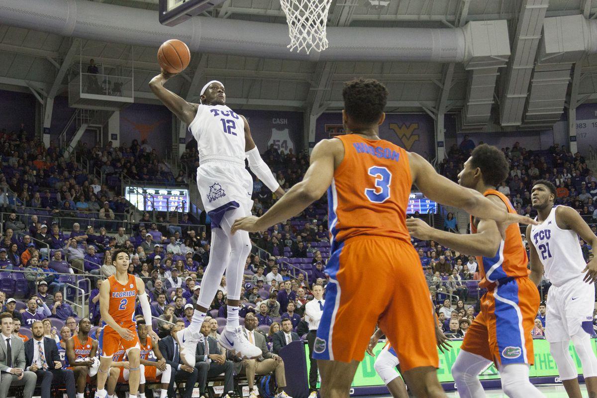 TCU Basketball vs Florida Gators (1.25.19)
