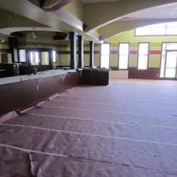 Another view of the dining room.