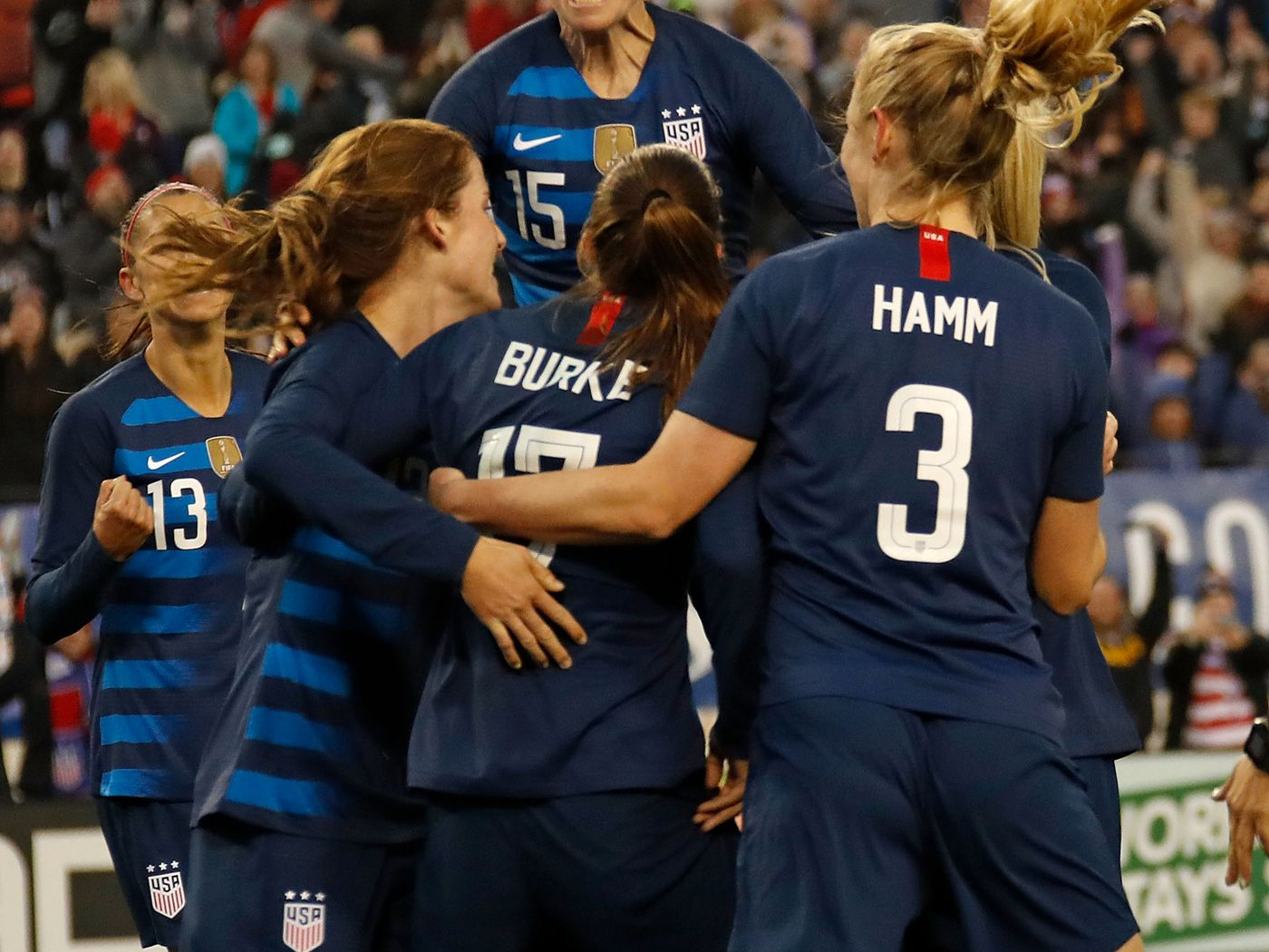 the best attitude 63903 b71ac Lesbian icons honored with jerseys worn by USWNT - Outsports