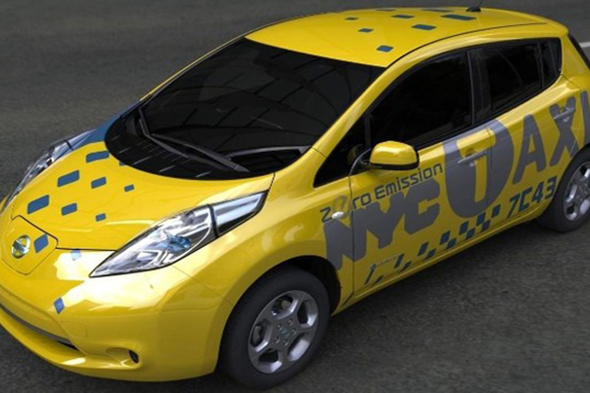 Nissan Leaf To Become New York City S First Electric Cab