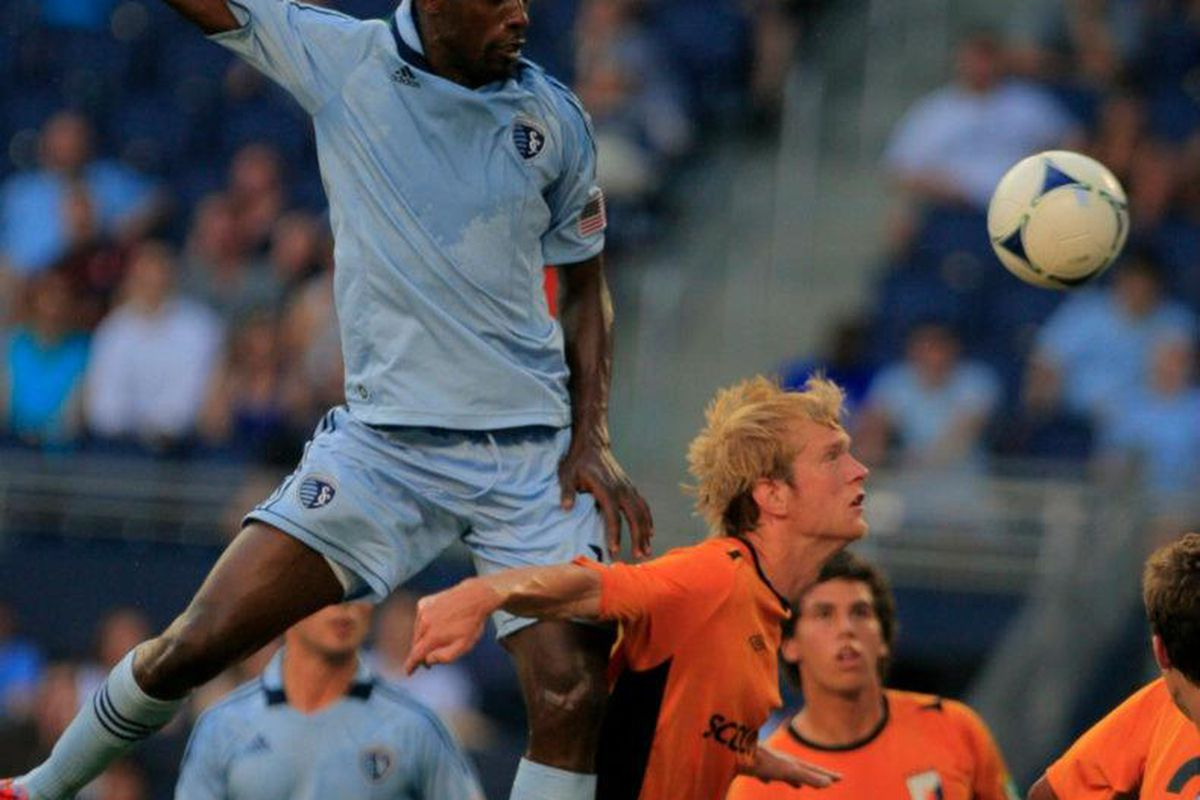 Lawrence Olum - Photo by Nick Smith(courtesy of Sporting KC)