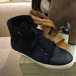 Lanvin sneakers, $316