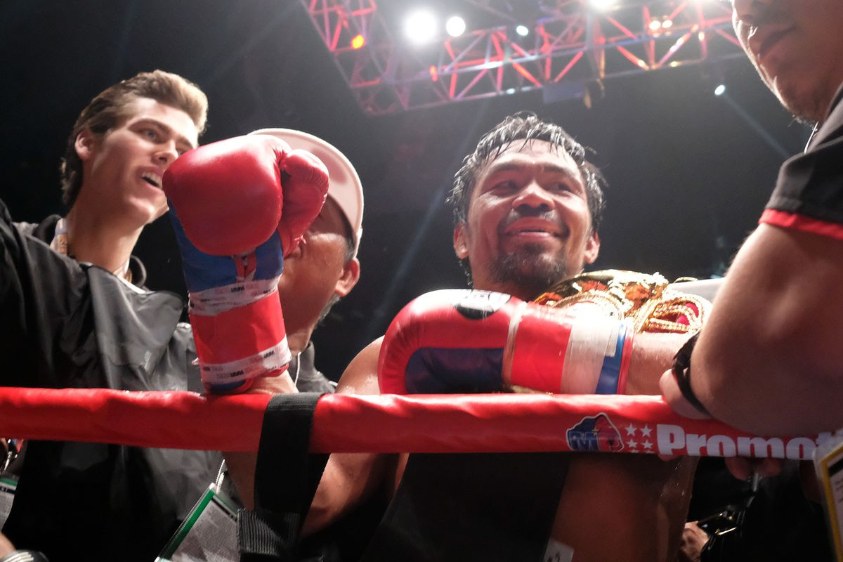 Manny Pacquiao v Lucas Matthysse - WBA Welterweight Title Bout