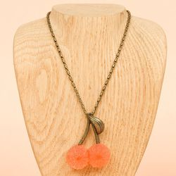 """<b>Q-Pot</b> Cherry Pate de Fruit Necklace, <a href=""""http://www.openingceremony.us/products.asp?menuid=2&designerid=426&productid=61668"""">$185</a> at Opening Ceremony"""