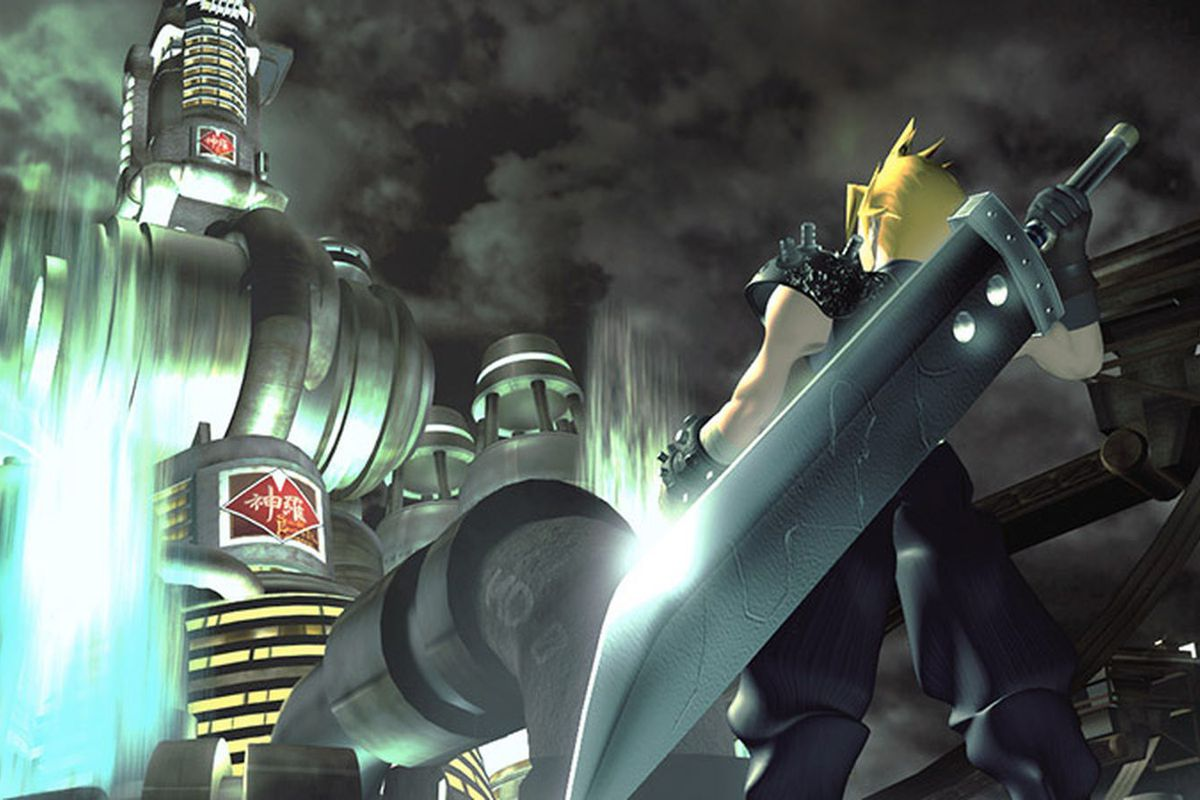 Final Fantasy VII port is now on PS4 - The Verge