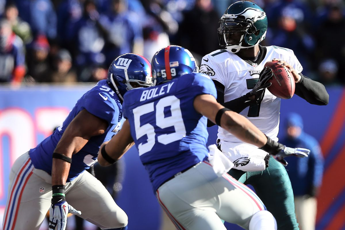 Is Michael Boley (59) part of the Giants' future?