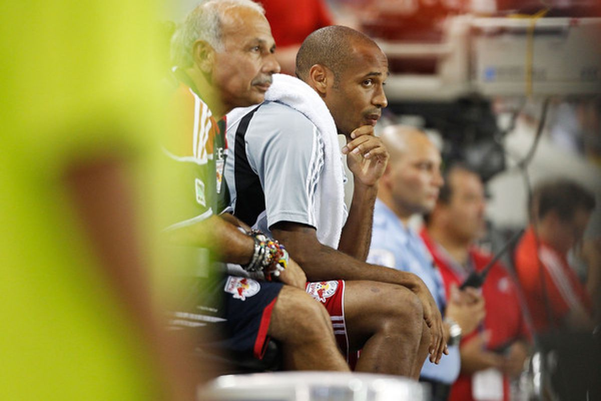 Can Thierry Henry meet expectations today in Toronto?