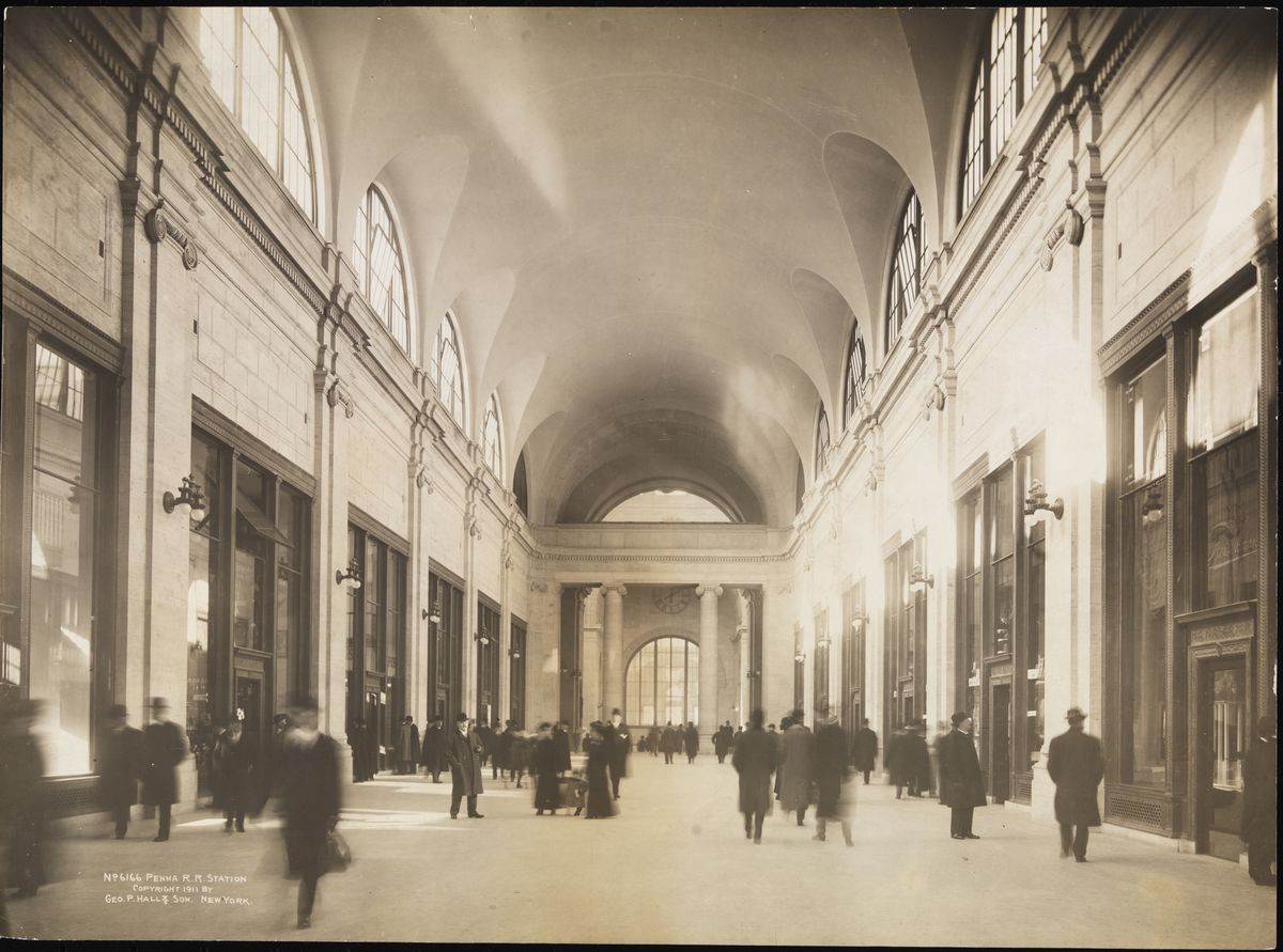 Penn Station Nyc Map Inside.Old Penn Station Photos The History Of New York S Glorious Train