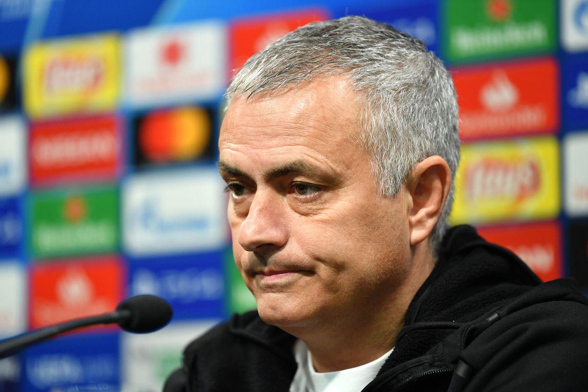 José Mourinho speaks to the media