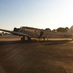 Rimowa's retro-inspired JU52 aircraft in all its glory