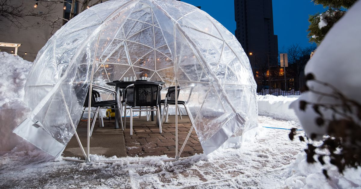 Dine Inside A Dome For The Super Bowl