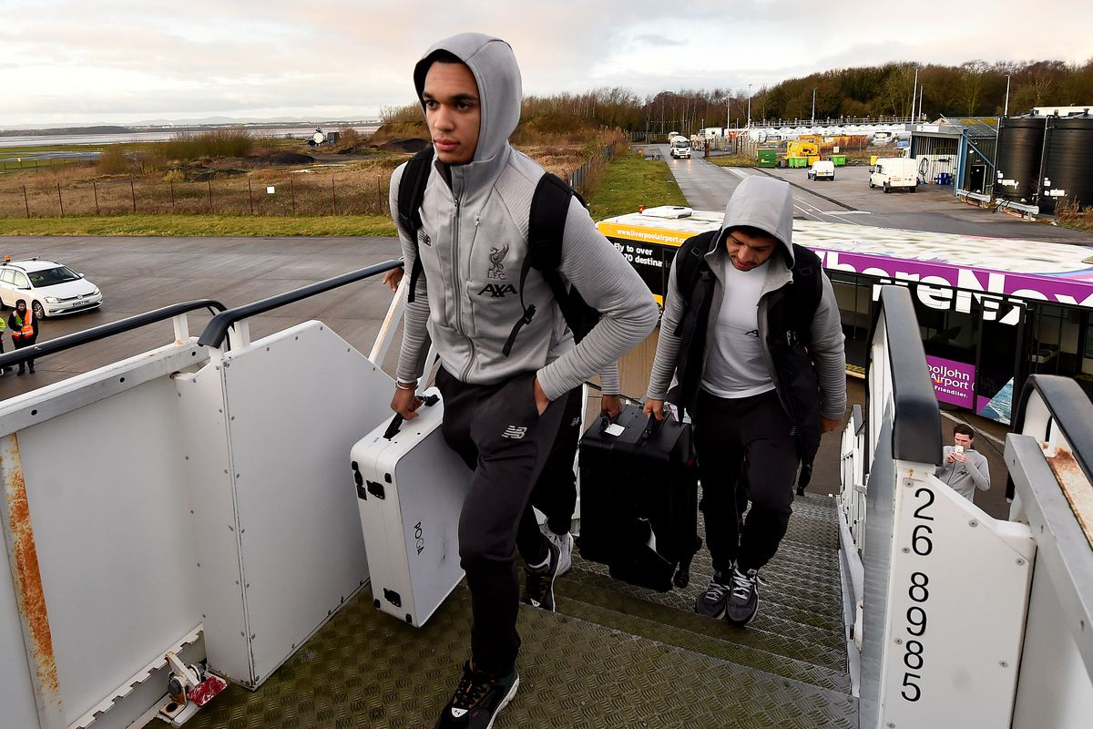 Liverpool Players Travel To Qatar For The FIFA World Cup