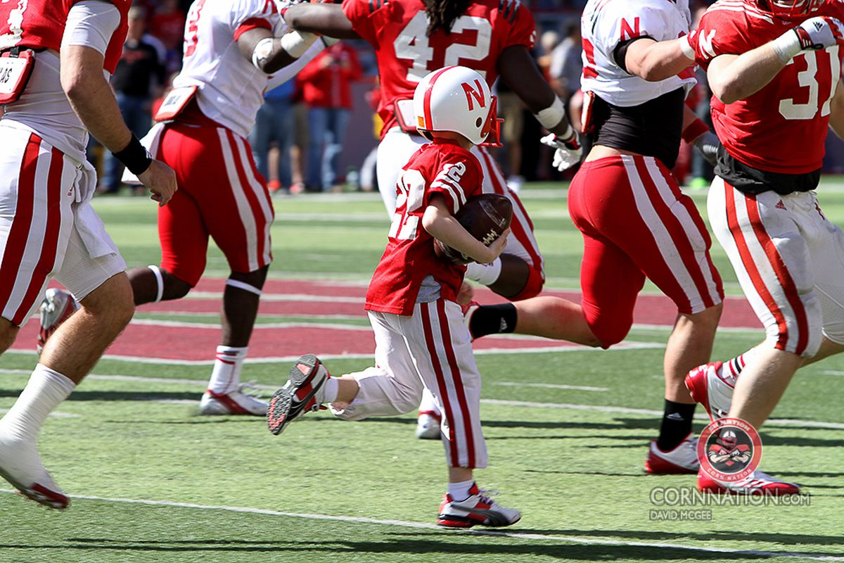Spring Game Gallery, Jack Hoffman Stole the Show