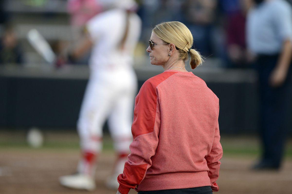 Julie Wright Maryland softball