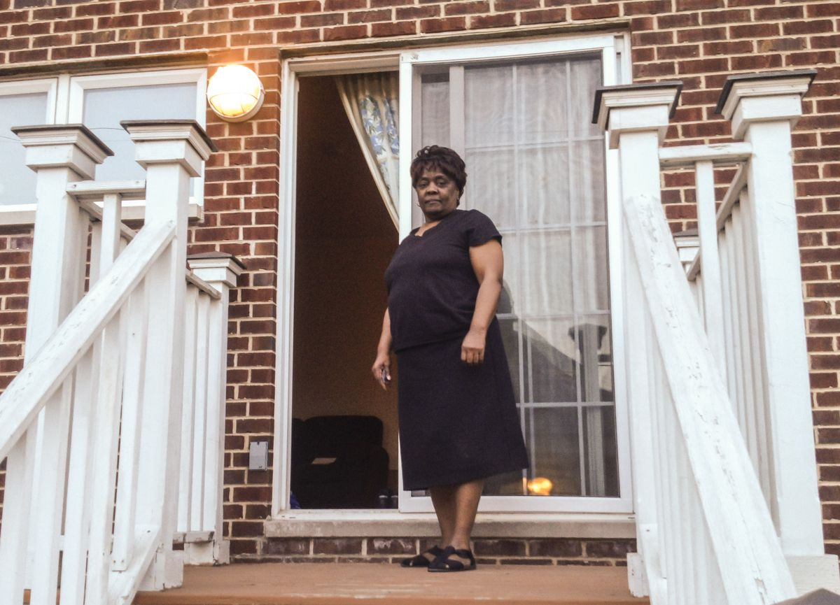 """""""I get to live like a human being,"""" says Linda Turpin, who pays no rent to live in a five-bedroom house in Bridgeport but will likely have to move because of new voucher rules.