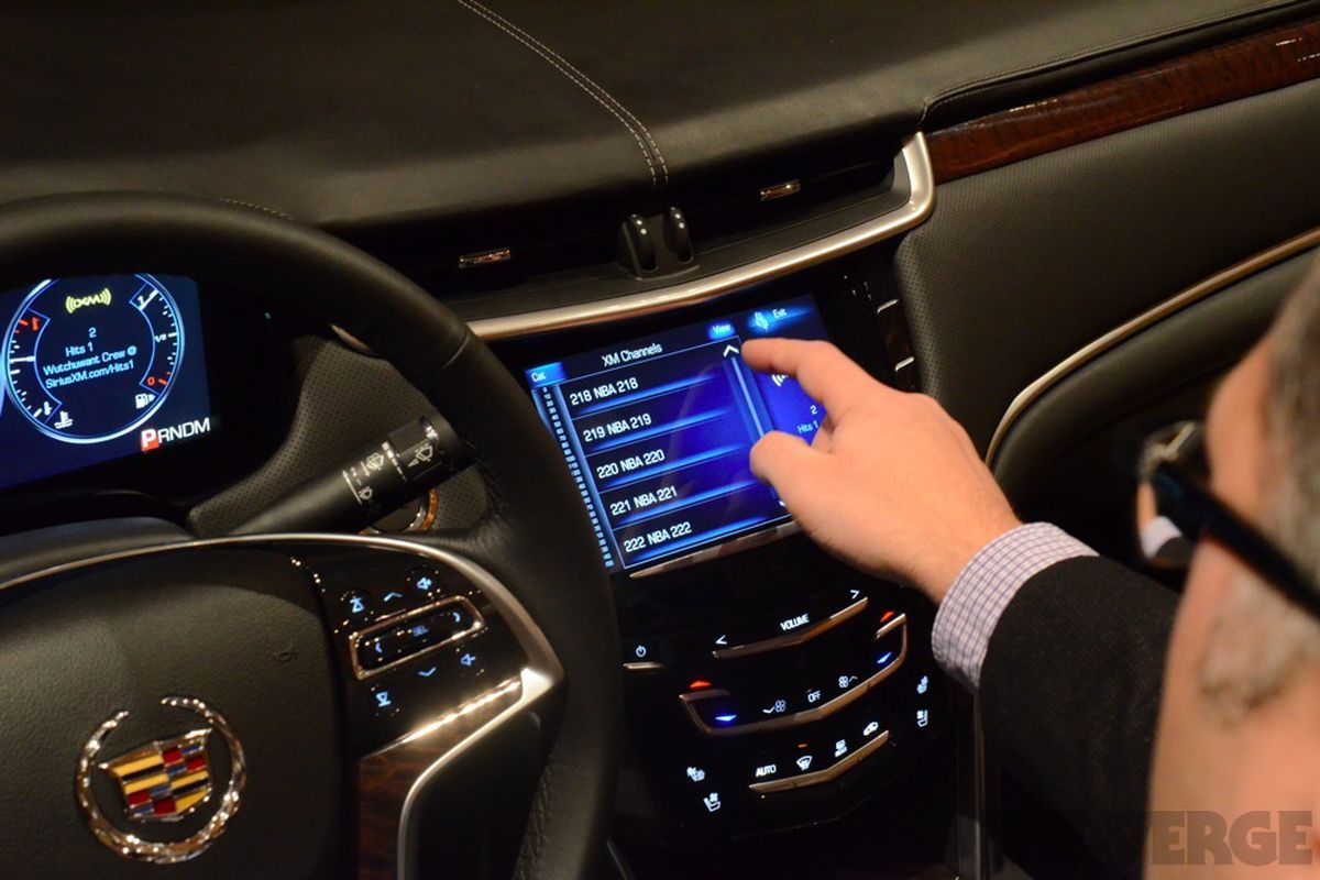 Gallery Photo: Cadillac Cue hands-on pictures