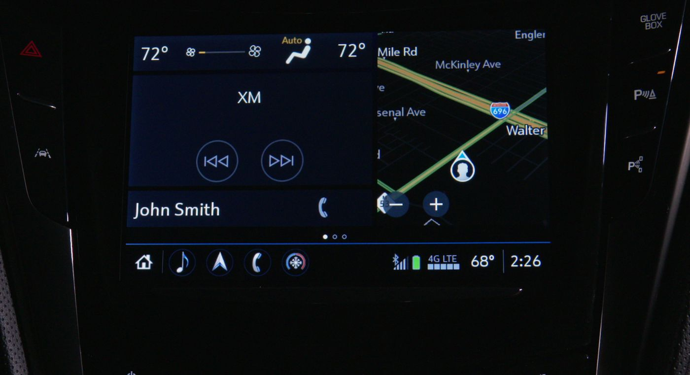 Cadillac's new infotainment system is not your computer