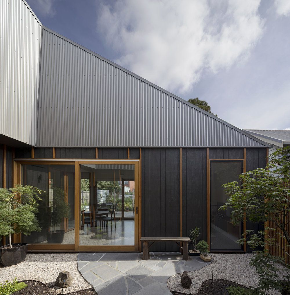 Modern Home Gets A High End Look With Low Cost Materials Curbed