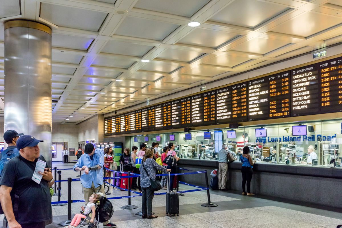 Amtrak's Penn Station track work wraps up - Curbed NY