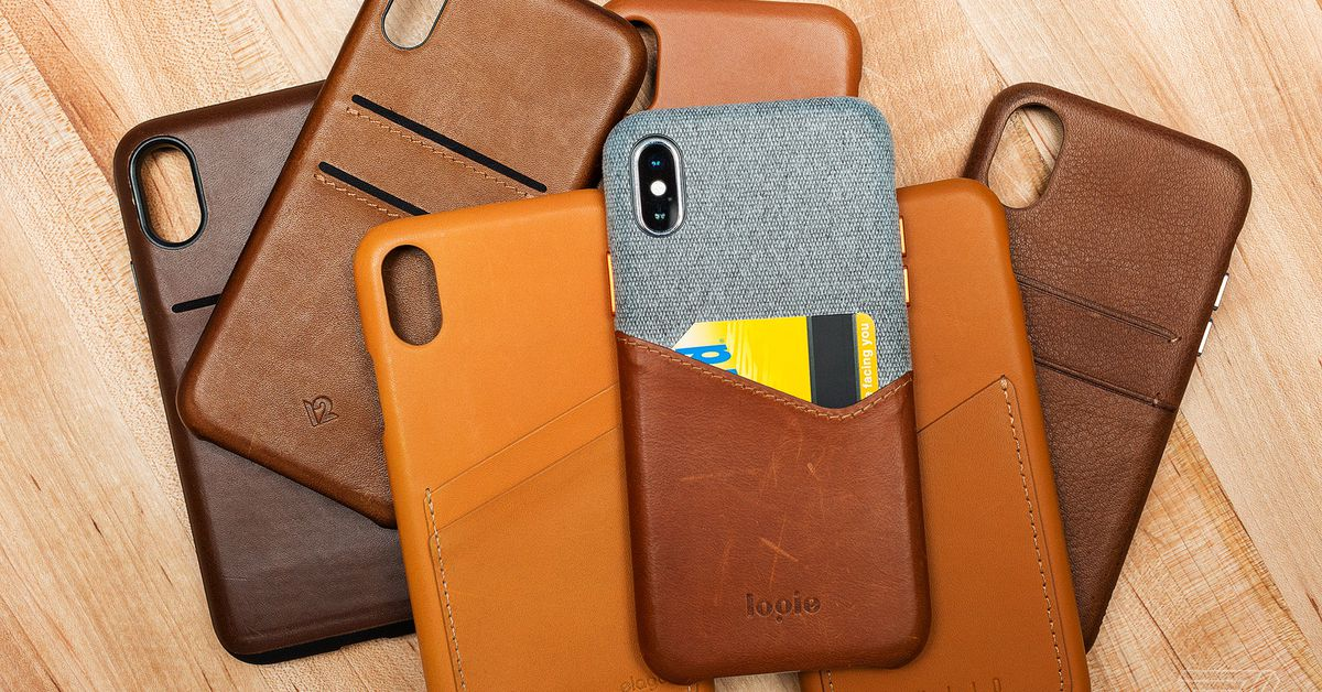 Finding the best leather case for the iPhone X